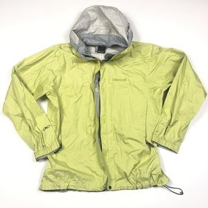 Marmot Rain Shell Windbreaker Hooded Jacket Large